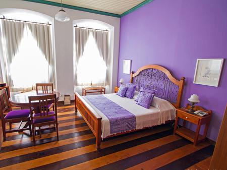 Example of a room at Pousada Solar dos Deuses