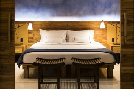 Example of a room at Hotel Tivoli Ecoresort