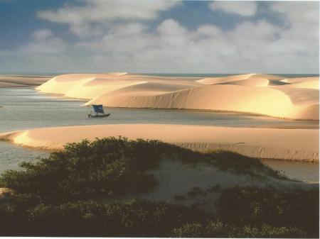 Sao Luis and Lencois Maranhenses for budget-conscious travellers: sunset in the dunes