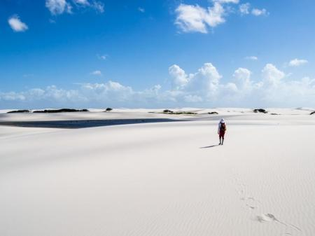 Sao Luis and Lencois Maranhenses for budget-conscious travellers: walking on the sand