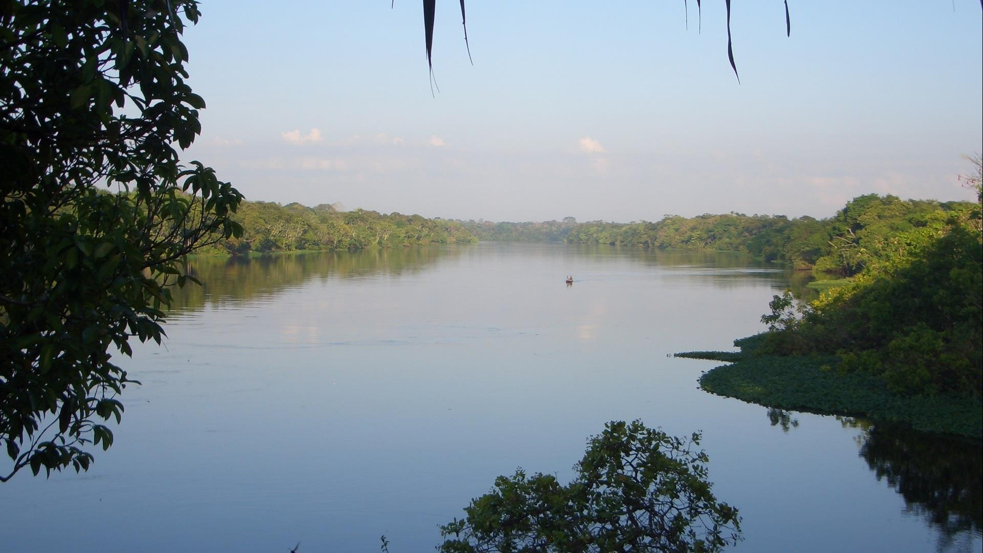 Brazil Amazon Juma Lodge Travel Packages from 2 to 6 nights: View over the river by the end of the day