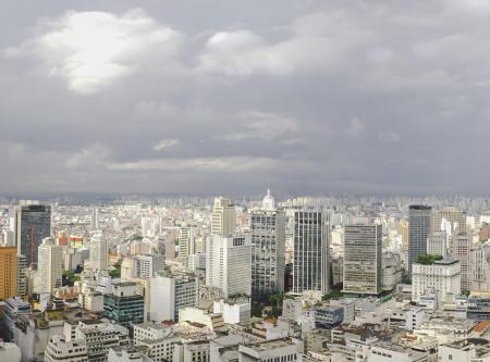 Panoramic image of Sao Paulo