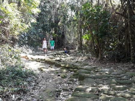 gold trail in Paraty