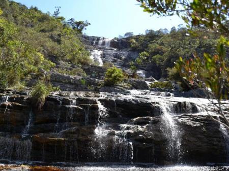Wasserfall in der Serra do Caraca