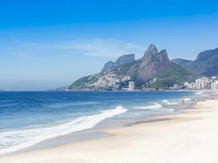 View of the Ipanema beach
