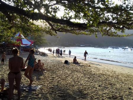 Vila do Abraao Ilha Grande beach