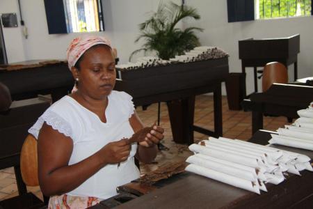 Cigar production in Sao Felix / Cachoeira