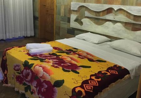Example of a double room at Pousada Tapera in Itubera, Bahia