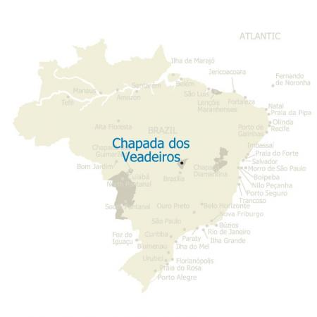 MAP Brazil Chapada dos Veadeiros