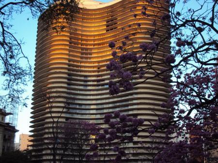 Oscar Niemeyer building in Belo Horizonte