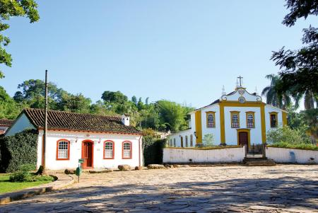 Colonial architecture in Tiradentes