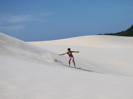 Sandboarding Florianopolis