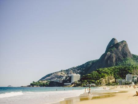 On of the most famous beaches of the world, Ipanema