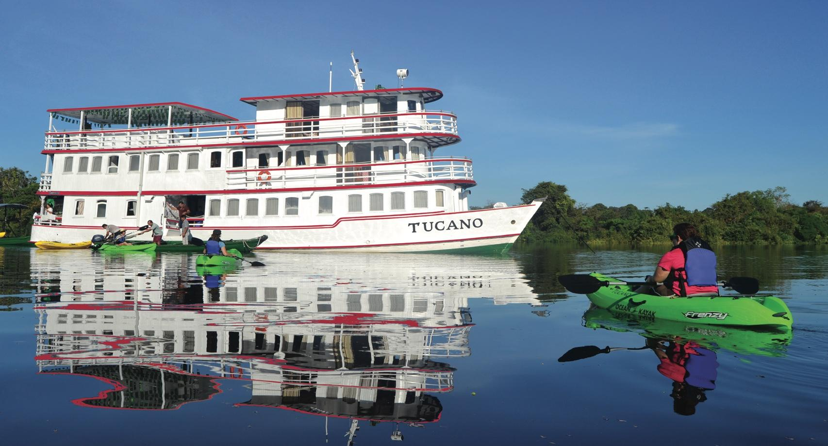 5 and 7 day Amazon River cruise on motor yacht Tucano